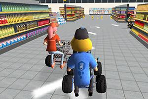 超市卡丁车赛