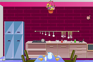 逃离粉色厨房