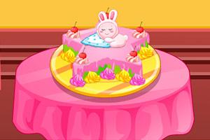 托莱兹蛋糕装饰