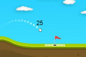 飞行的高尔夫