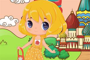 俄罗斯小姑娘
