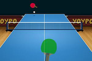 乒乓球对决赛