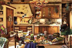 杂乱的詹姆厨房