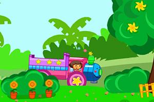 朵拉火车运水果