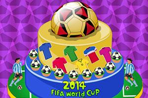 2014年世界杯蛋糕