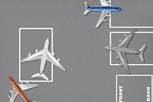 机场飞机停靠