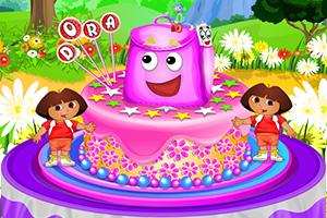 朵拉背包蛋糕