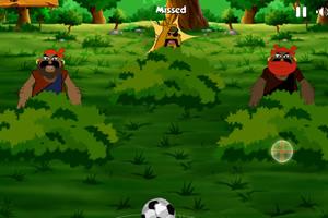 足球踢坏人