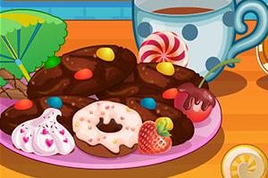 美味的巧克力饼干