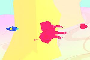 抽象方块战机