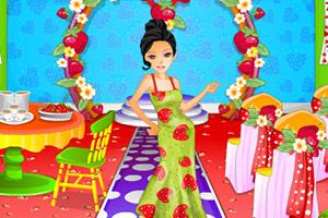 草莓舞会派对装饰