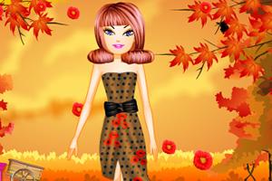 罂粟花时尚装扮