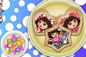 朵拉饼干装饰