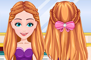 夏季编织发型