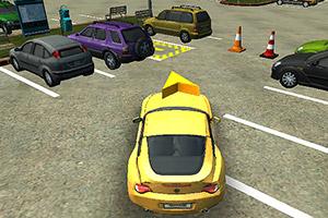 3D停车场停车