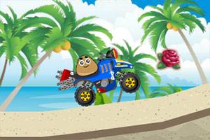 土豆君沙滩四驱车