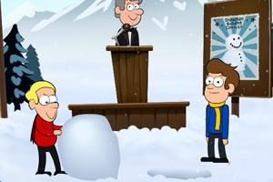 堆雪人大赛之谜