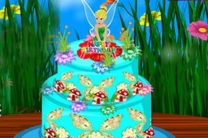 小仙女生日蛋糕装饰
