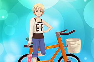 吉娜时尚单车