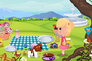 宝贝去野餐