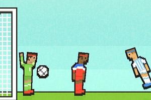 像素纸牌双人足球