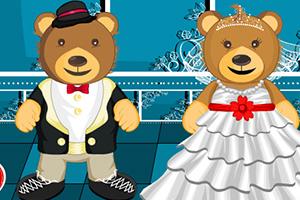 泰迪熊的婚礼