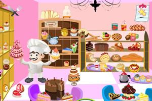 蛋糕店找东西