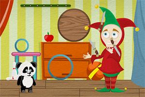 小熊猫逃离马戏团