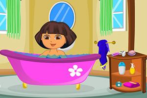 朵拉的沐浴时光