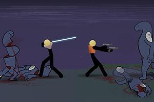 火柴人决战异形星球