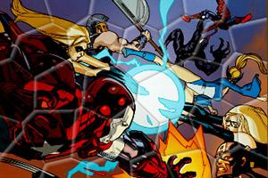 超级英雄战队拼图