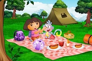 与朵拉一起野餐