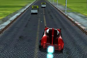 3D道路汽车