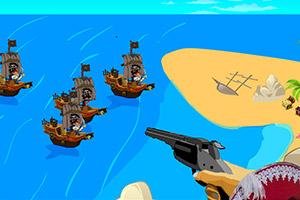 金银岛防御战