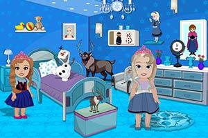 冷冻宝宝的房间装饰