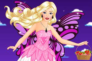 飞翔的芭比天使