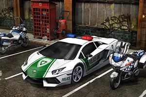 3D停车场停车警车版