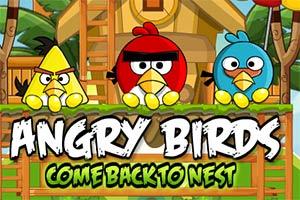 愤怒的小鸟回巢