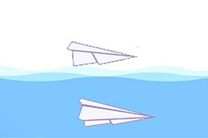 小小纸飞机