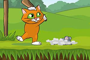 猫咪棒打老鼠