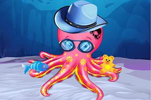 可爱章鱼护理