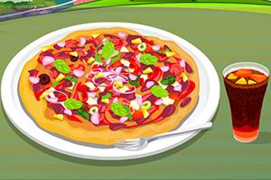制作美味的披萨