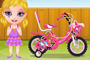 芭比宝贝的单车
