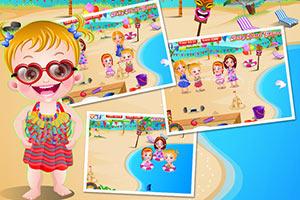 小宝贝海滩派对