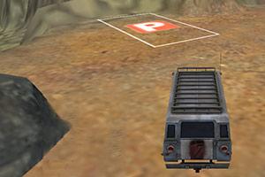 3D山地救援车停靠