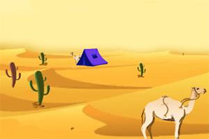荒芜沙漠逃生