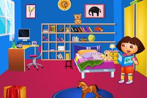 朵拉学习整理房间