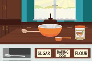 跟着艾玛制作花生酱饼干