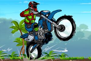 摩托车山地挑战赛