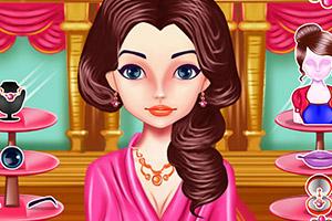 法国公主做美容